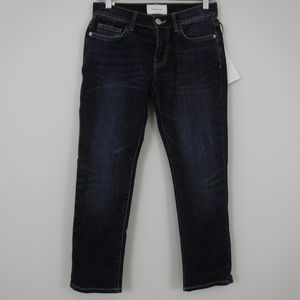 Current/Elliott The Crop Straight Jeans Size 24